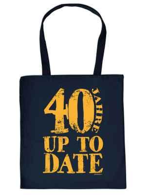 Stofftasche: 40 Jahre up to date
