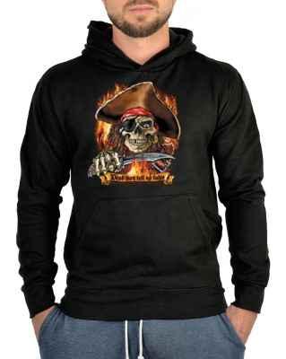 Kapuzensweater: Dead men tell noch tales - Piratenkopf