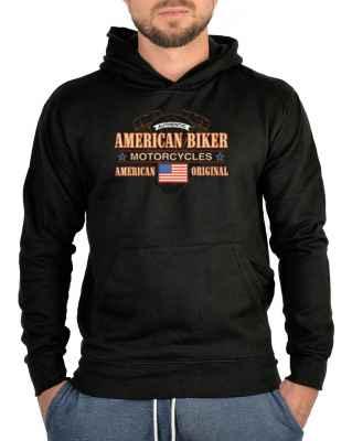Kapuzensweater: Authentic American Biker - Motorcycles - American Original