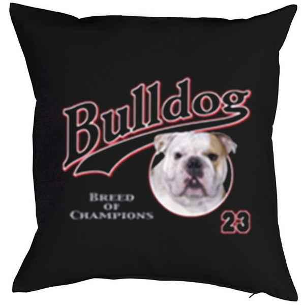 Kissen mit Füllung: Bulldog 23 - Breed of Champions