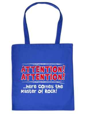 Stofftasche: Attention! Attention!... Here comes the master of Rock!
