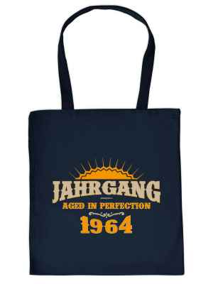 Stofftasche: Jahrgang 1964 - Aged in Perfektion