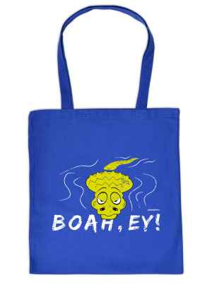 Stofftasche: Boah Ey