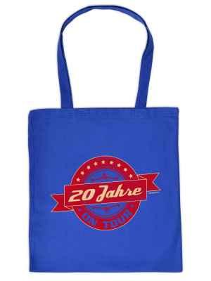 Stofftasche: 20 Jahre on tour