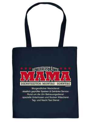 Stofftasche: Betriebsstätte Mama?