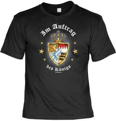 T-Shirt: Im Auftrag des Königs