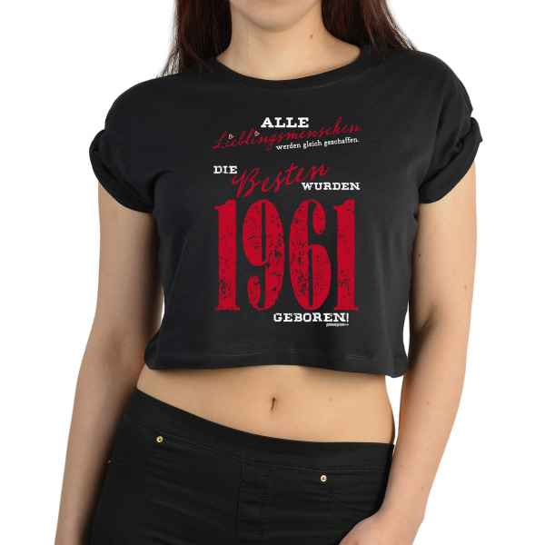 Crop Top Damen: Alle Lieblingsmenschen werden gleich geschaffen ? 1961