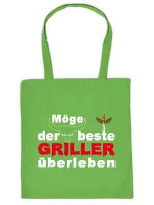 Stofftasche: Möge der beste Griller überleben!