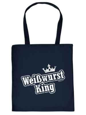 Stofftasche: Weißwurst King