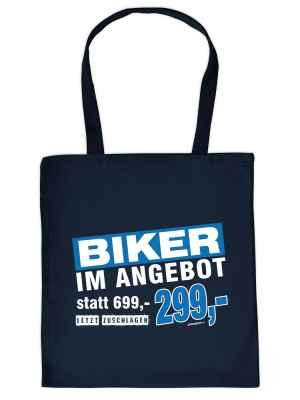 Stofftasche: Biker im Angebot statt 699,-- nur 299,-- jetzt zuschlagen