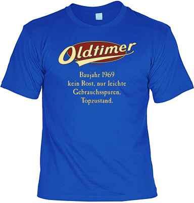 T-Shirt: Oldtimer Baujahr 1969 - kein Rost, nur leichte Gebrauchsspuren, Topzustand.
