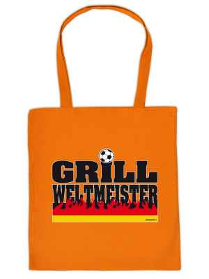 Stofftasche: Grill-Weltmeister