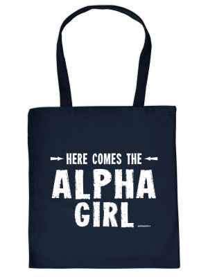 Stofftasche: Here comes the Alpha-Girl_