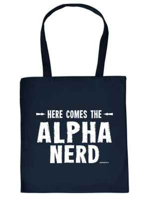Stofftasche: Here comes the Alpha Nerd