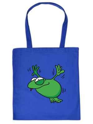 Stofftasche: fliegender Frosch