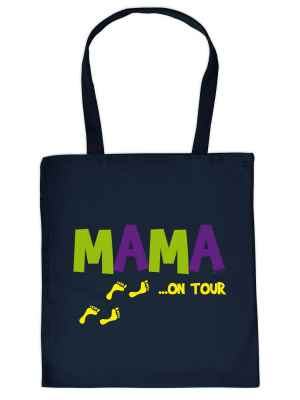 Stofftasche: Mama ? on Tour