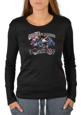 Langarmshirt Damen: American Legends