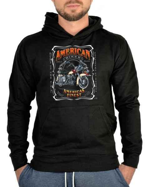 Kapuzensweater: American Biker - Americas finest