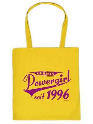 Stofftasche: German Powergirl seit 1996