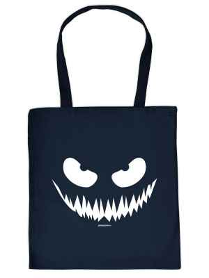Stofftasche: Halloween - Böser Blick