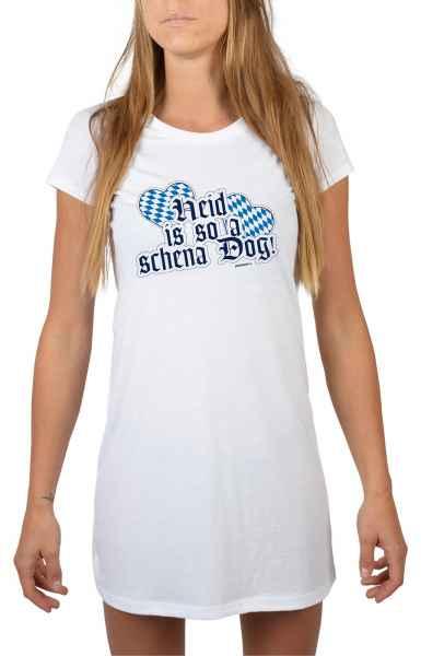 Nachthemd Damen: Heid is so a schena Dog!