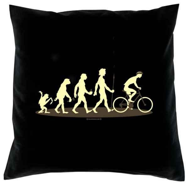 Kissen mit Füllung: Homo Stupidus: Radfahrer