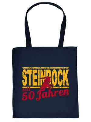 Stofftasche: Steinbock seit 50 Jahren