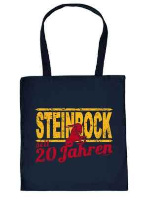 Stofftasche: Steinbock seit 20 Jahren