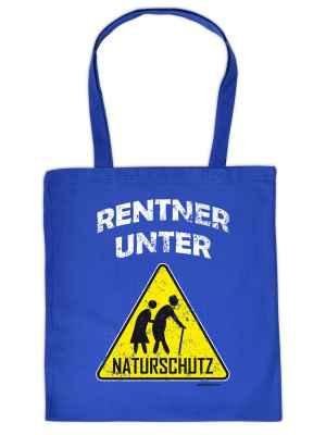 Stofftasche: Rentner unter Naturschutz