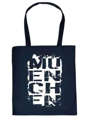 Stofftasche: München