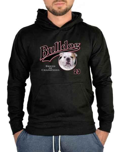 Kapuzensweater: Bulldog 23 - Breed of Champions