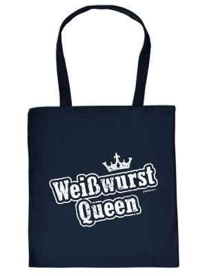 Stofftasche: Weißwurst Queen