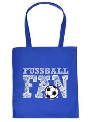Stofftasche: Fussball Fan