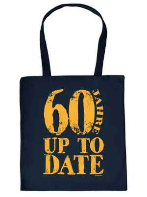 Stofftasche: 60 Jahre up to date