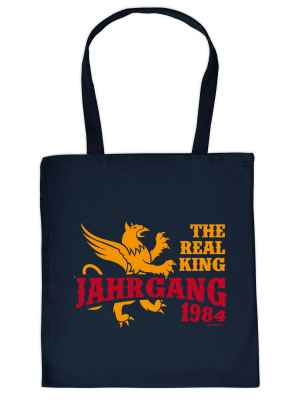 Stofftasche: The real King - Jahrgang 1984