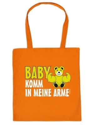 Stofftasche: Baby - Komm in meine Arme