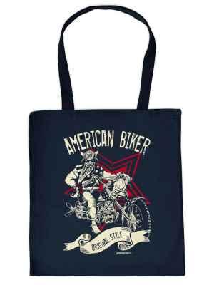 Stofftasche: American Biker - Original Style