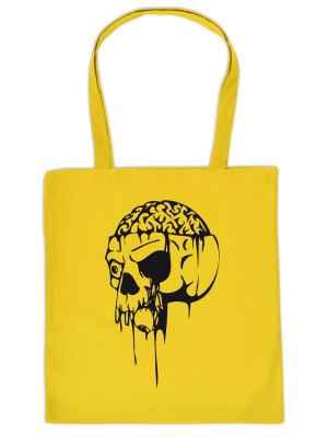 Stofftasche: Halloween - Totenkopf