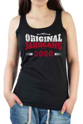 Tank Top Damen: Original Jahrgang 2000