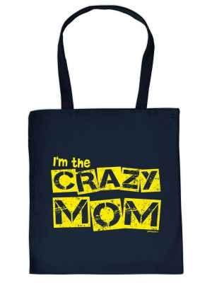 Stofftasche: I m the crazy Mom