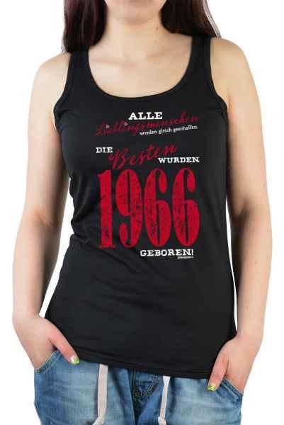 Tank Top Damen: Lieblingsmenschen die Besten wurden 1966 geboren