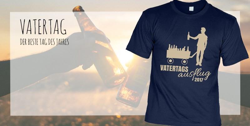 T-Shirt: Vatertagsausflug 2017