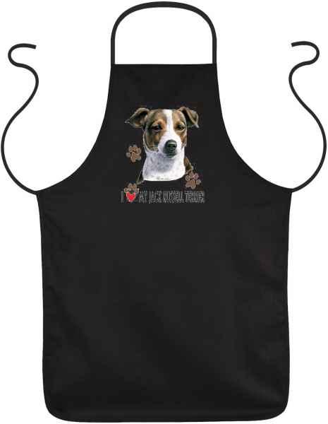 Schürze: I love my Jack Russel Terrier