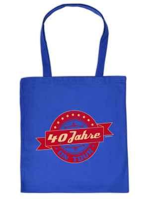 Stofftasche: 40 Jahre on Tour