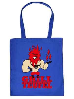 Stofftasche: Grillteufel