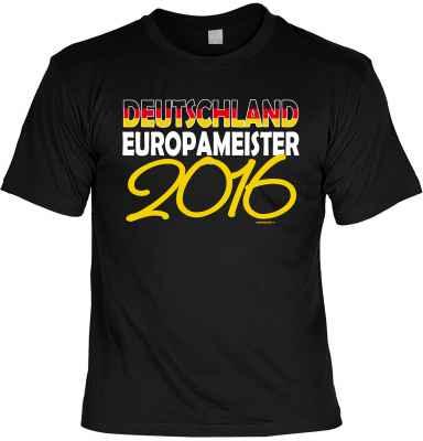 T-Shirt Deutschland Europameister 2016