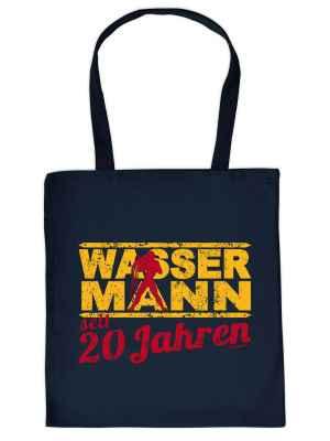 Stofftasche: Wassermann seit 20 Jahren