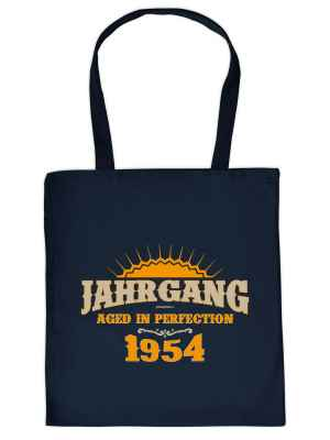 Stofftasche: Jahrgang 1954 - Aged in Perfektion