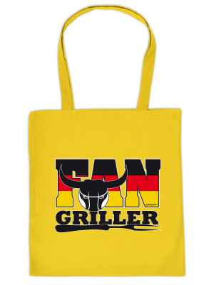 Stofftasche: Fan-Griller
