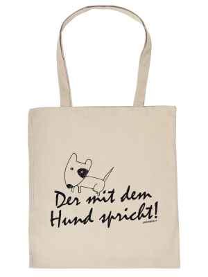 Stofftasche: Der mit dem Hund spricht!